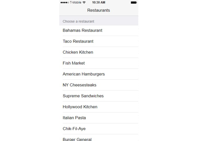 FoodEasy – screenshot 6