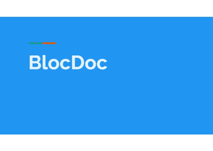 BlocDoc – screenshot 1