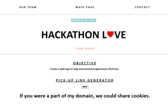Hackathon L♥ve