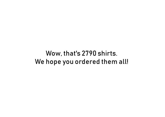 How Many T-Shirts Do MLH Need? (.com) – screenshot 1