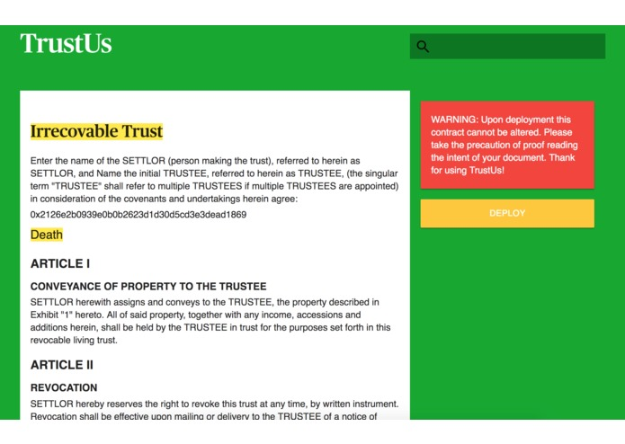 TrustUs – screenshot 5