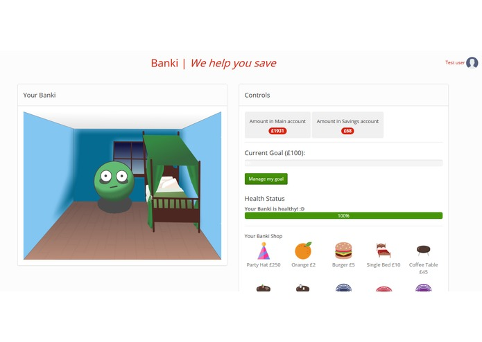 Banki – screenshot 1