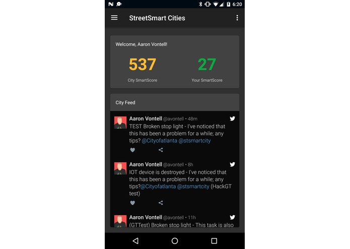StreetSmart Cities – screenshot 1