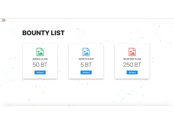 Initial Bounty Offering Platform – screenshot 1
