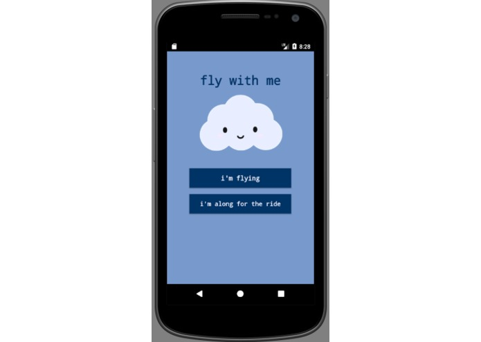 FlyWithMe - Never Fly Alone – screenshot 1