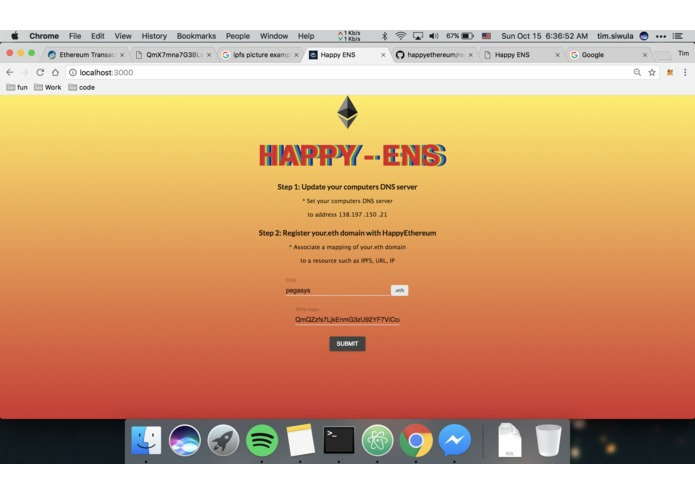 happy_ens – screenshot 1
