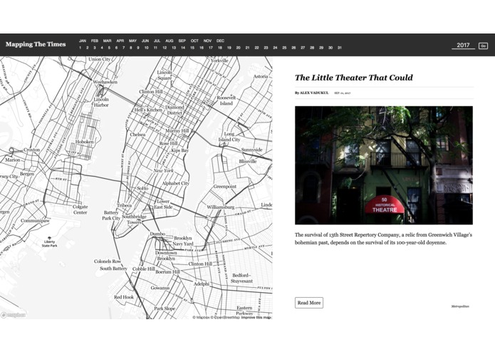 Mapping The Times – screenshot 1