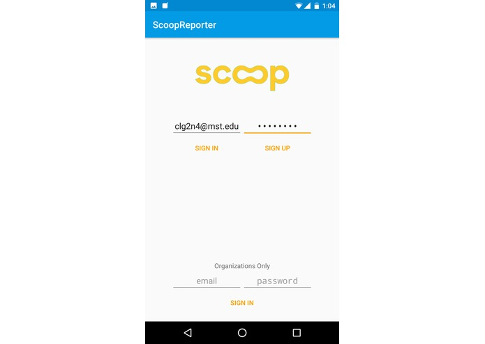 Scoop – screenshot 1
