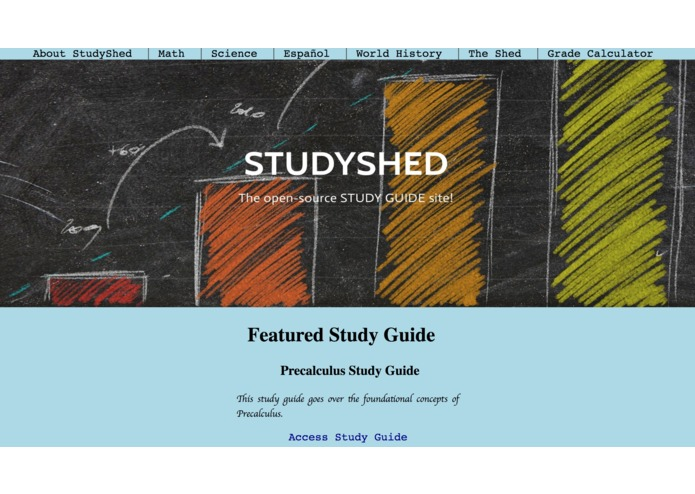 StudyShed – screenshot 1