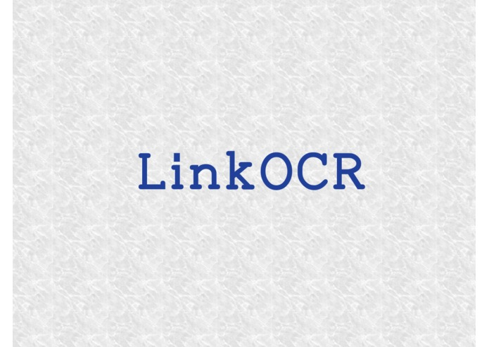 LinkOCR – screenshot 1