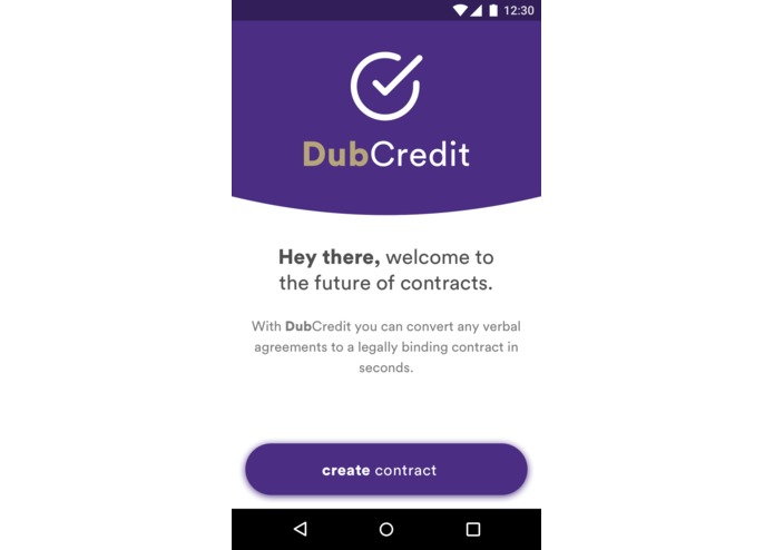 DubCredit – screenshot 1