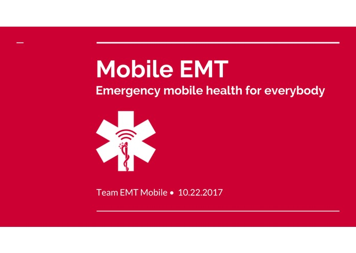 Mobile EMT – screenshot 1