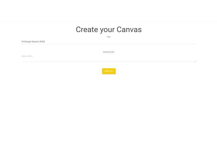 MyCanvas – screenshot 2