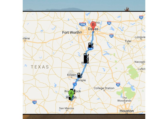 financial road trip planner devpost