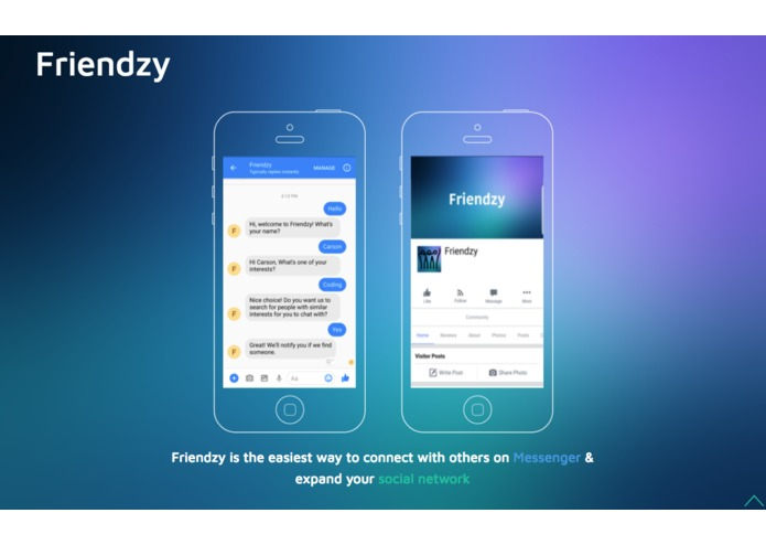 Friendzy  – screenshot 1