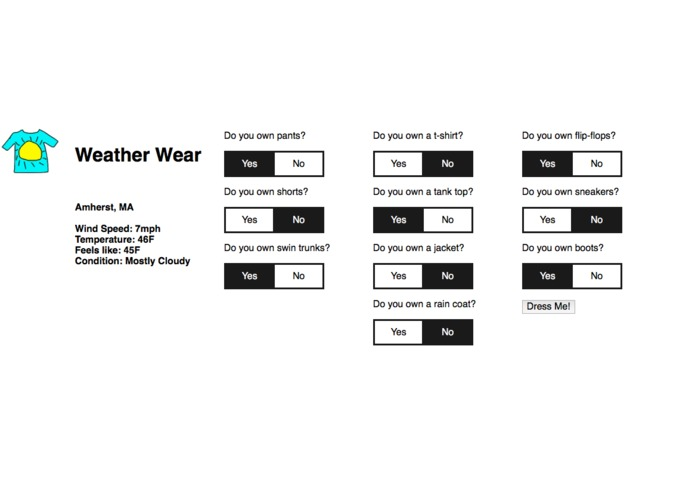 Weather Wear – screenshot 2