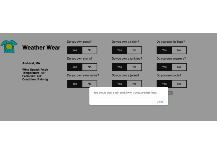 Weather Wear – screenshot 3