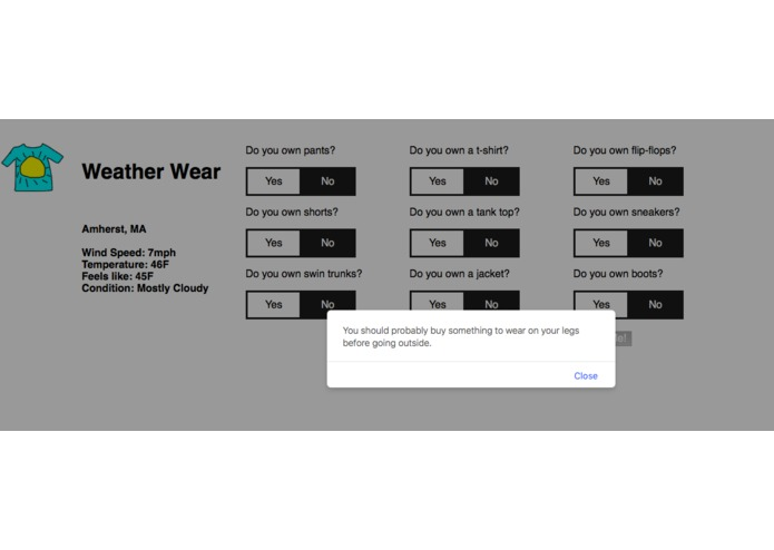 Weather Wear – screenshot 4
