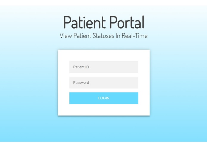 Patient Portal – screenshot 1