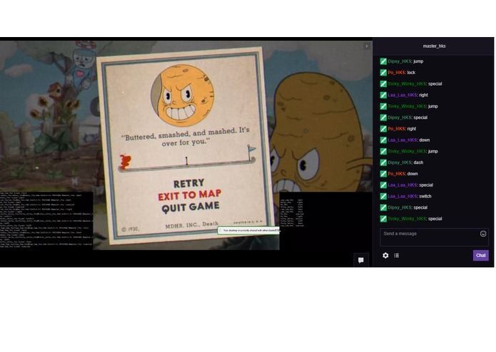 CupHead Twitch Bot AI | Devpost