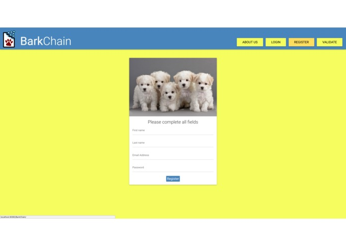 BarkChain – screenshot 4