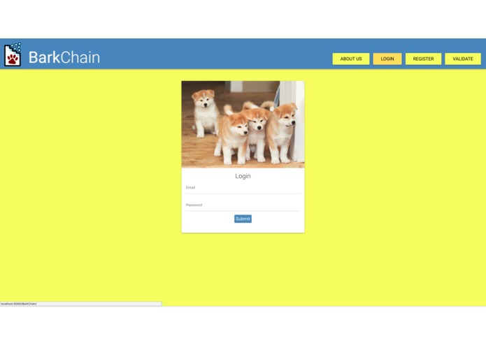 BarkChain – screenshot 3