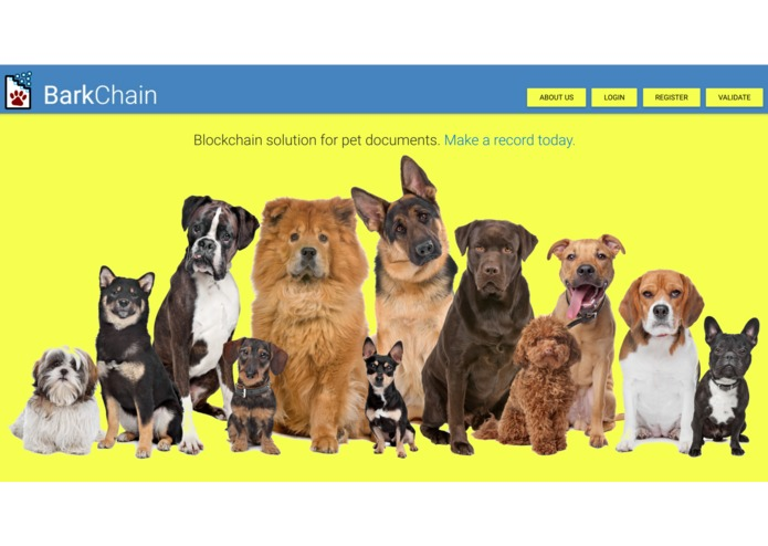 BarkChain – screenshot 1