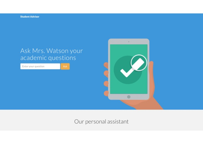 Mr. Watson Student Advisor – screenshot 1