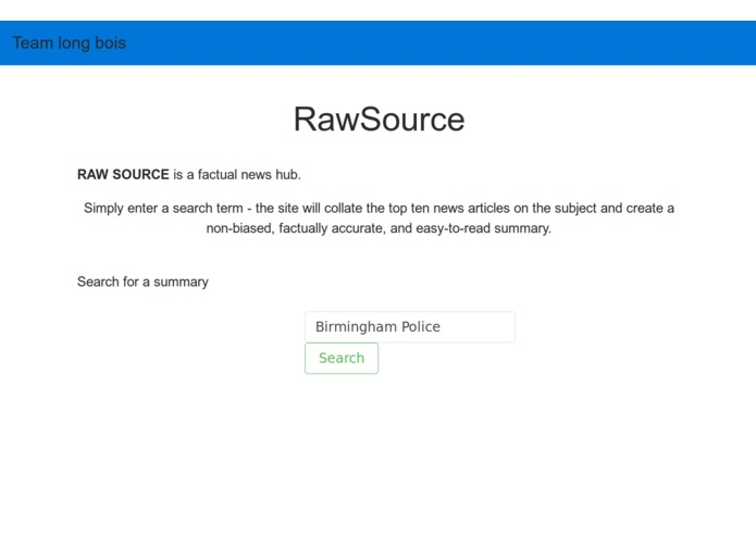RAWSOURCE – screenshot 1