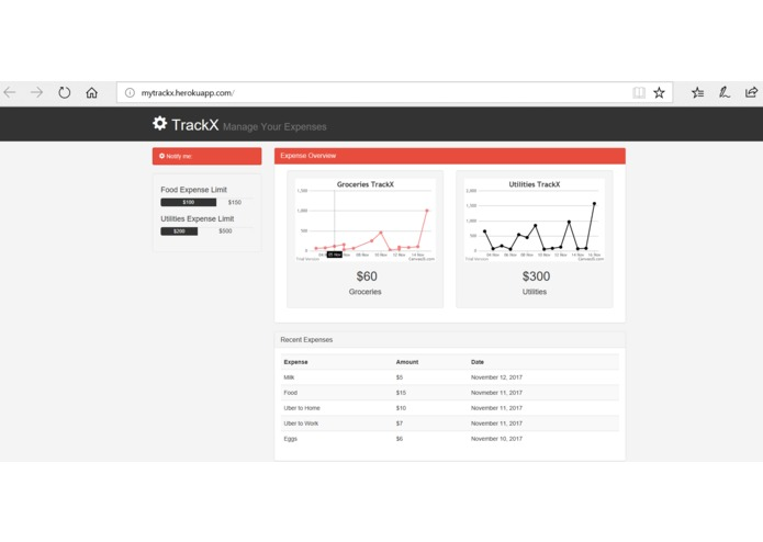 TrackX – screenshot 4