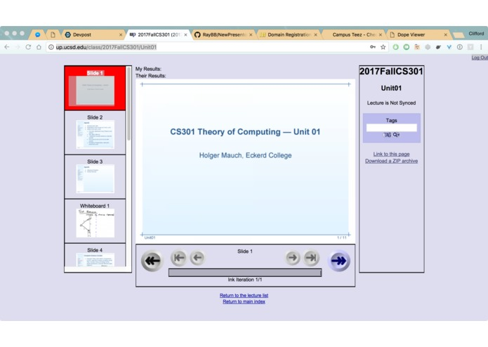 Ubiquitous Presenter 2.0 – screenshot 2