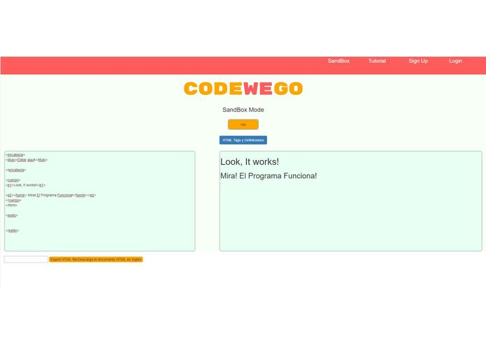 CodeWeGo – screenshot 11