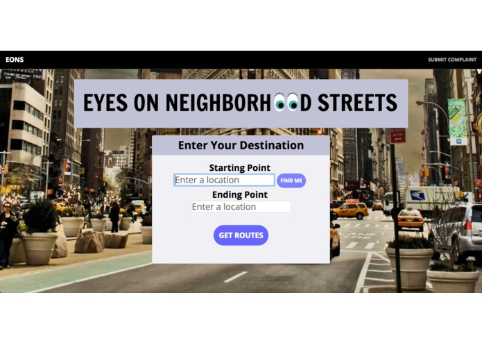 Eyes On Neighborhood Streets (EONS) – screenshot 2