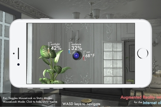 Augmented Reality In-Game Interfaces for IoT