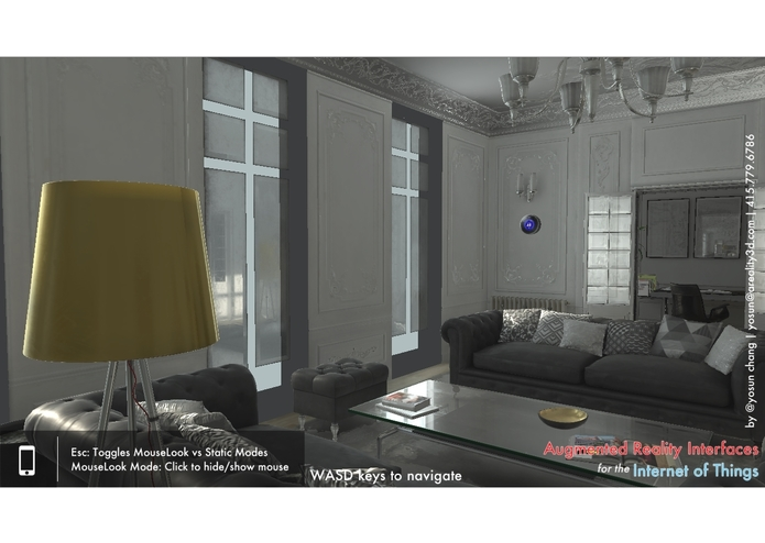 Augmented Reality In-Game Interfaces for IoT – screenshot 2