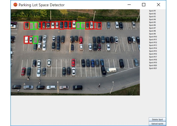 Solar Powered RasPi Camera Parking Detection – screenshot 1