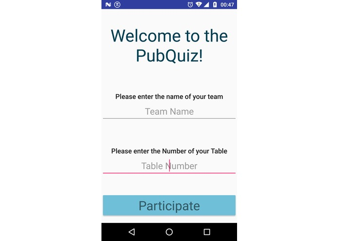 hackQuiz – screenshot 2