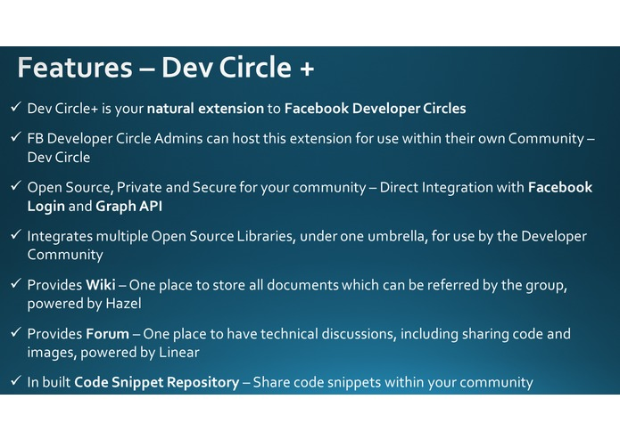 Dev Circle+ – screenshot 2