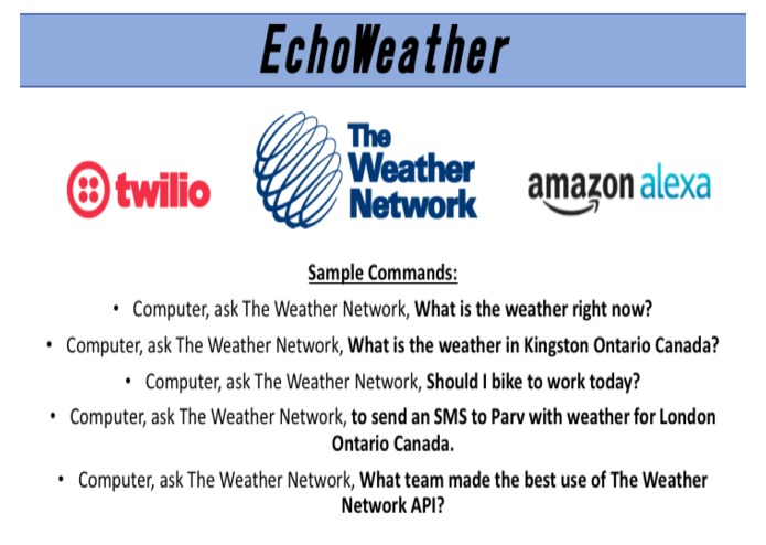 EchoWeather – screenshot 2
