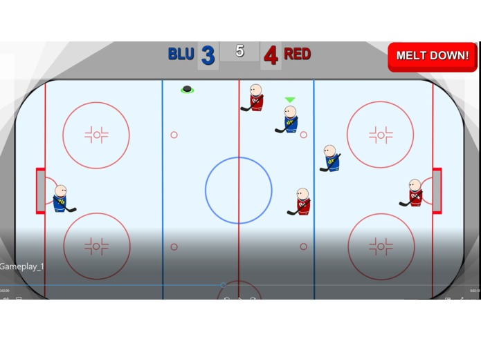 Pocket hockey – screenshot 4