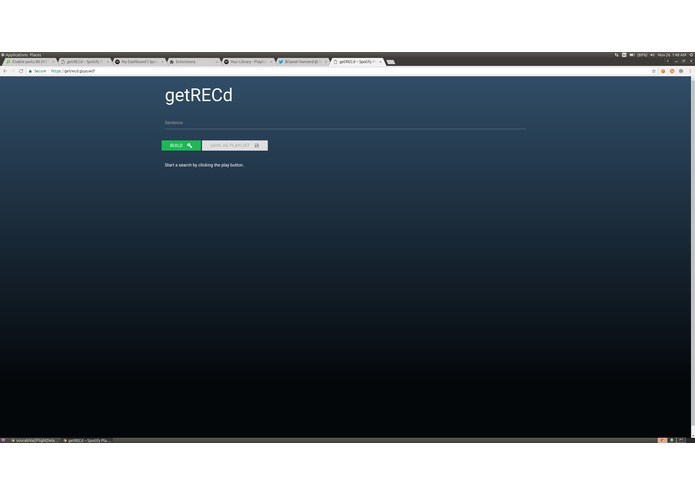 getREC'd – screenshot 1