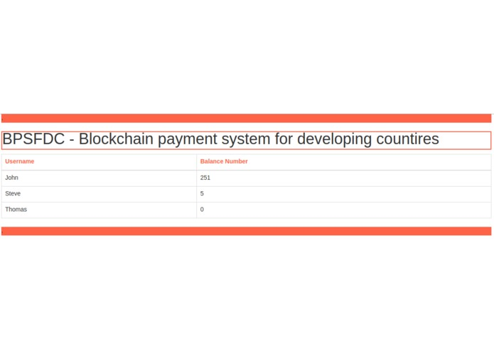 No fee blockchain payment system – screenshot 1