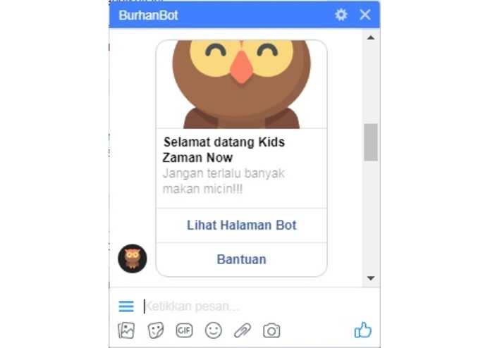 BurhanBot – screenshot 2