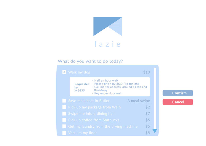 Lazie – screenshot 1