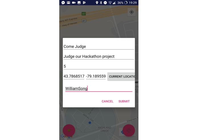 UnimApp – screenshot 2