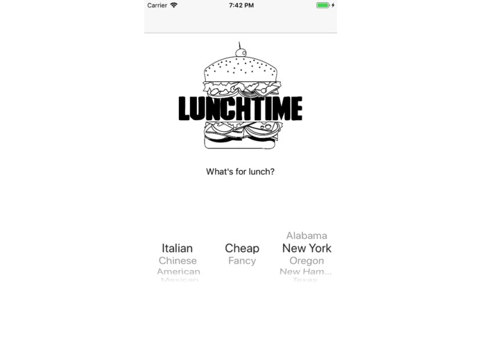 What's for Lunch? – screenshot 1