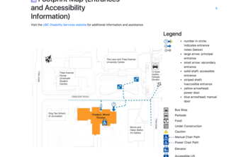UBC Building Access Finder