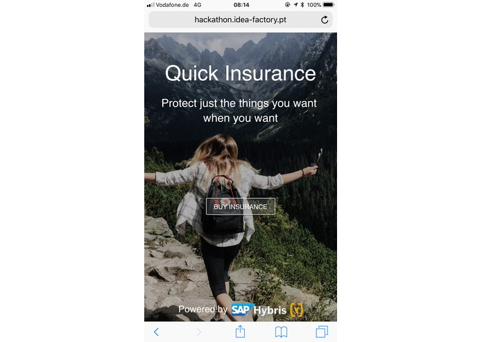 Quick Insurance – screenshot 2