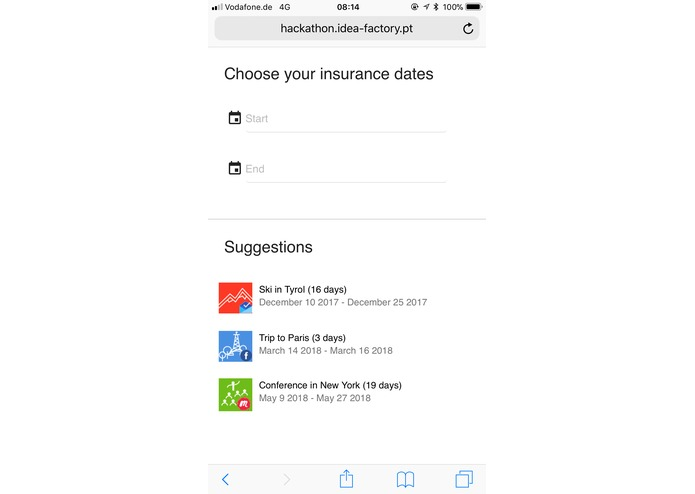 Quick Insurance – screenshot 3