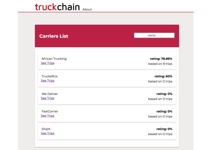 TruckChain – screenshot 6